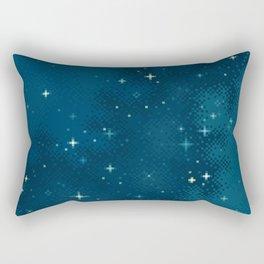 Northern Skies I Rectangular Pillow