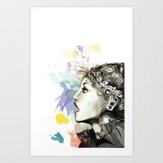 Before it ! Art Print