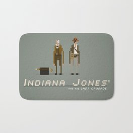 Pixel Art Indiana Jones Bath Mat