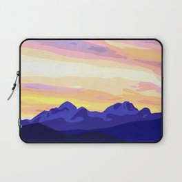 Triglav (2864m) Sunset Laptop Sleeve