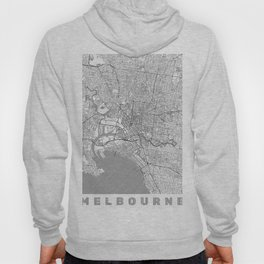 Melbourne Map Line Hoody