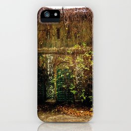 Nature finds the way inside... iPhone Case
