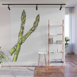 Asparagus From The Eat Your Veggies Series Wall Mural