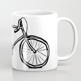 Path Racer Bicycle Coffee Mug
