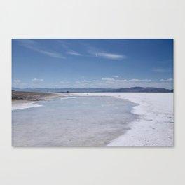 Salt Flats 1 Canvas Print