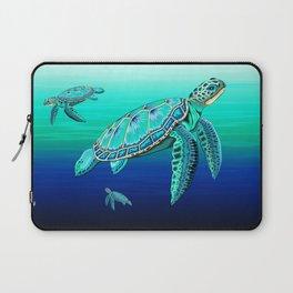 Sea Turtle Turquoise Oceanlife Laptop Sleeve