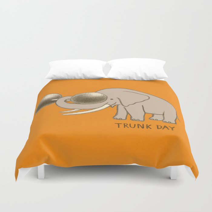Trunk Day Duvet Cover