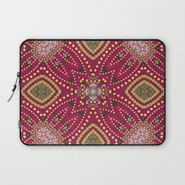 Red Gold GeoExotica Laptop Sleeve