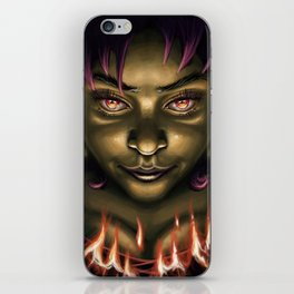 Need some fire? iPhone Skin