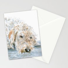 Sleeping Labradoodle Stationery Cards