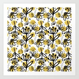 Colony: Pollinators Art Print