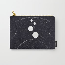 Stellarum Ordo Solaris: A map of our Solar system Carry-All Pouch