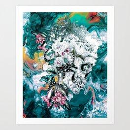 Momento Mori Revv Art Print