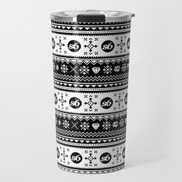 Ugly Sweater Society6 Travel Mug