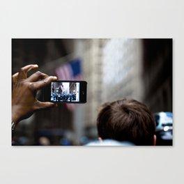 Iphone shot! Canvas Print