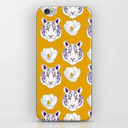 LSU yellow iPhone Skin