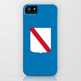 flag of campania iPhone Case