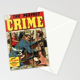 Perfect Crime Stationery Cards