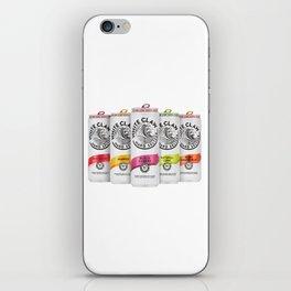 White Claw Full 2 iPhone Skin