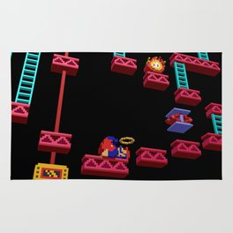 Inside Donkey Kong stage 3 Rug