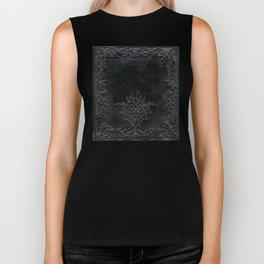 Tribal Edging Book Cover Dark Biker Tank