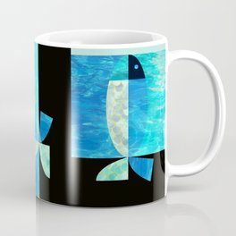 pool fish two step Coffee Mug