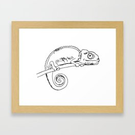 Iggy Framed Art Print