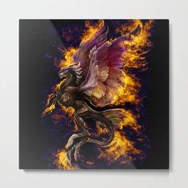 Phoenix Reborn Metal Print