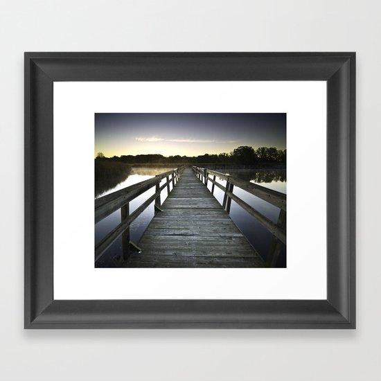 Good Morning October Framed Art Print