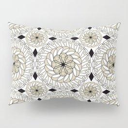 Colorful ethnic ornament . Pillow Sham