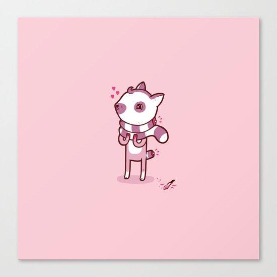 Lemur Chic Canvas Print