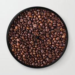 Coffee Bean Scene Wall Clock