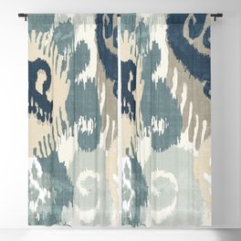 Beach Curry II Blackout Curtain