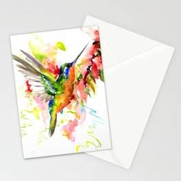 Tropical Hummingbird Stationery Cards
