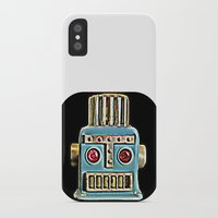 robot iPhone & iPod Cases featuring Robot by Silvio Ledbetter