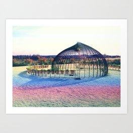 Mad max rainbow Art Print