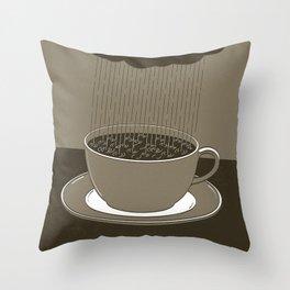 GOOD MORNING 02 Throw Pillow