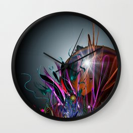 And So We Rise Wall Clock