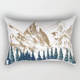 mountains 9 Rectangular Pillow