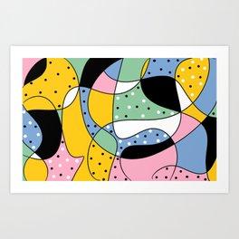 Modern Abstract Beauty Canvas Wall Art Poster Art Print