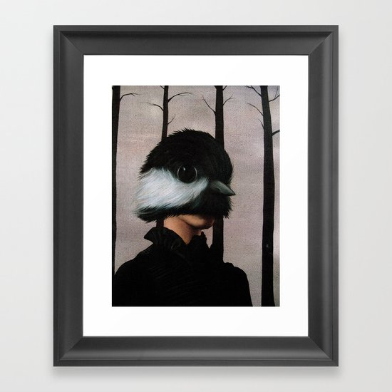 Tommy Nobody Framed Art Print