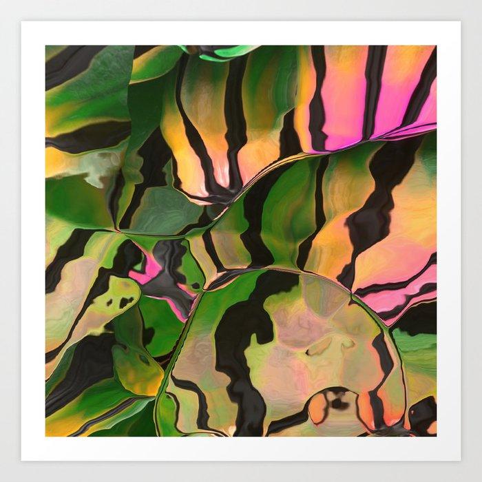 Vegetarian Zebra Kunstdrucke