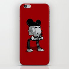 Mouse Walker iPhone & iPod Skin