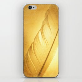 Textured Feather iPhone Skin