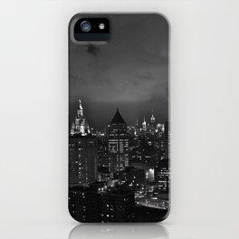 By Night: New York City (Pt. 18-B) (Gotham City Edition) iPhone Case