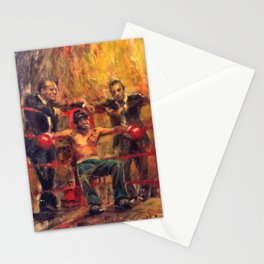 Brad Pitt in Snatch by guy ritchie Stationery Cards