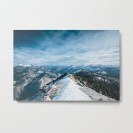 Clouds Rest Metal Print
