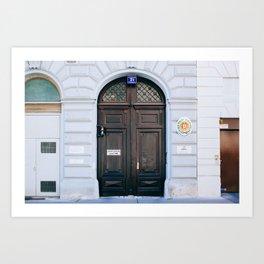Innere Stadt - Vienna, Austria - #3 Art Print