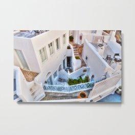 Caldera house i Metal Print