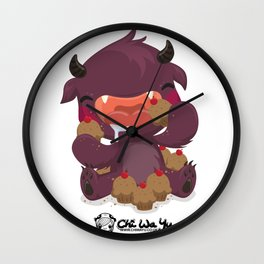 Monstrous Collab Wall Clock